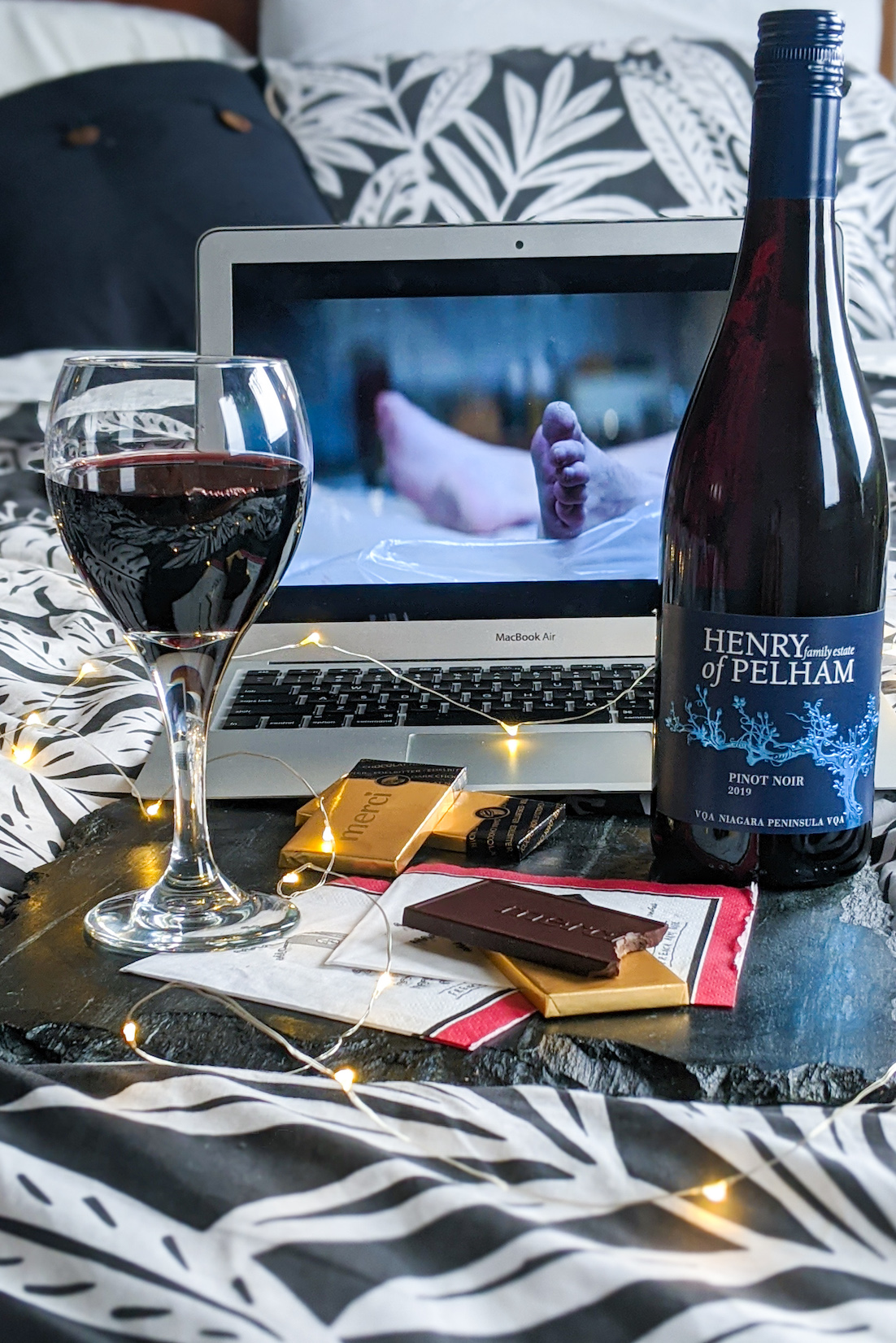 TV, Wine and Snack Pairing Guide
