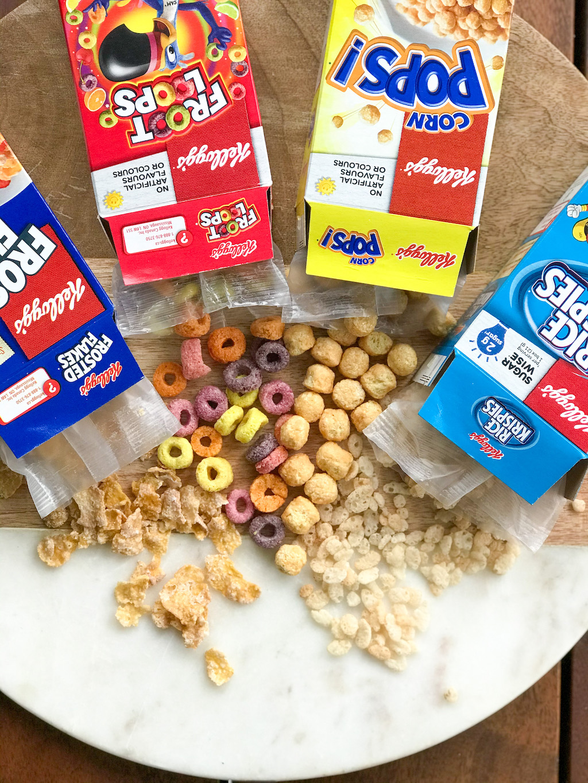 Cereal Milk Lattes