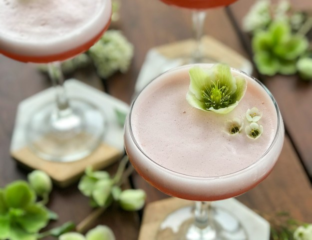 Strawberry Rhubarb Sour