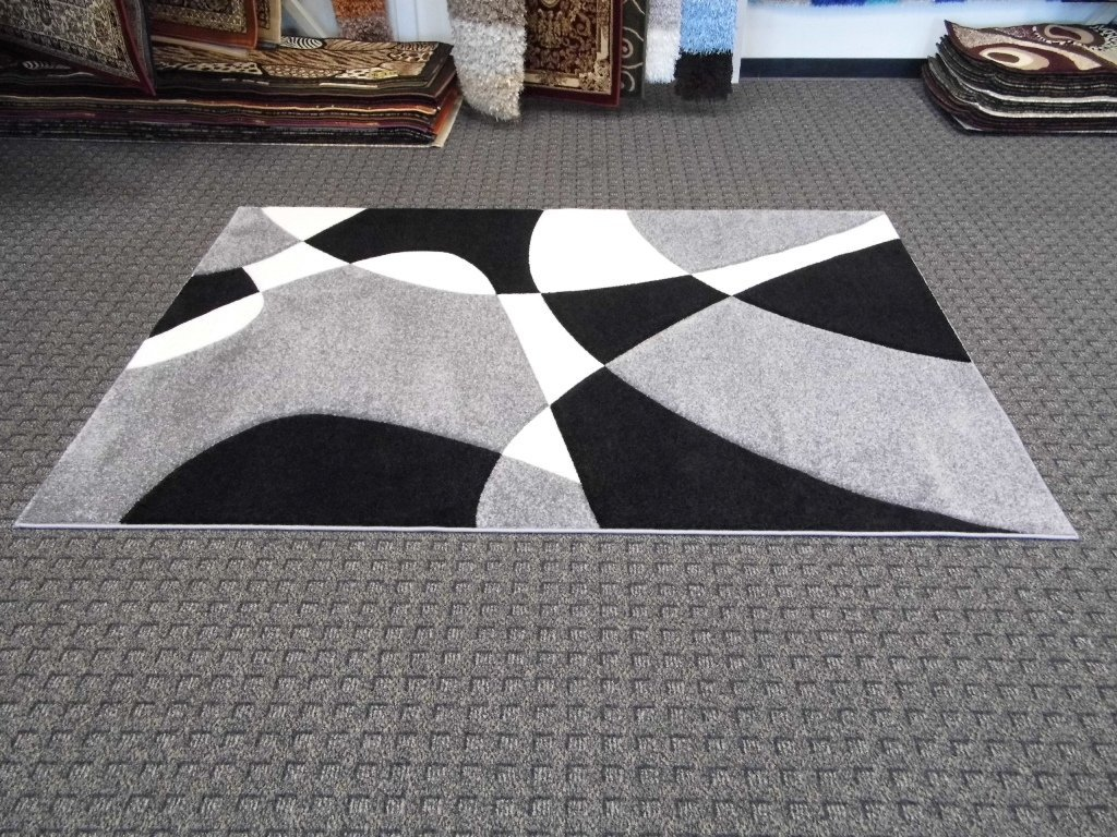 Black White And Grey Area Rugs