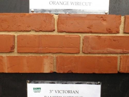 Reproduction Bricks Orange Wirecut