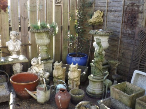 Various Garden Ornaments