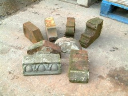 Various Shaped & Coping Bricks