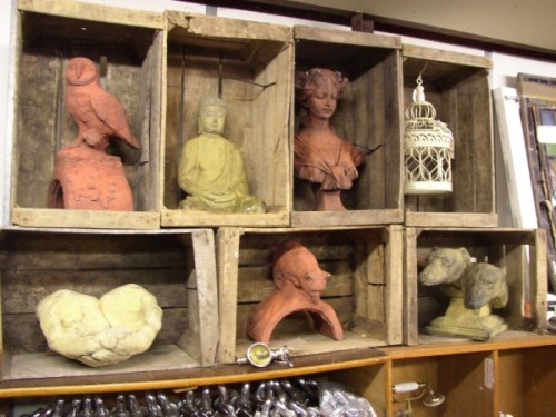 Bushell Box Display Shelves