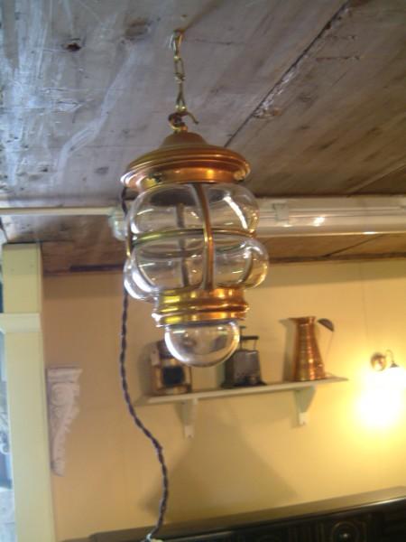 Edwardian Bullnose Lantern