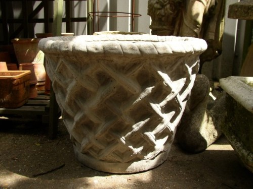 Large Basket Tub