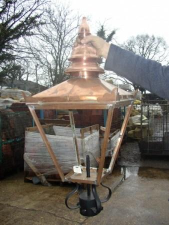 Reproduction Copper Lantern