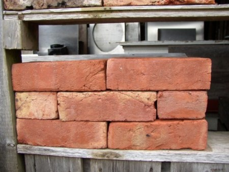 Rustic Reproduction Red Kiln Bricks