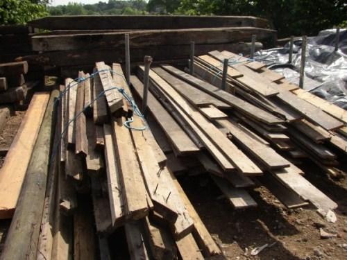 Reclaimed Pine Floorboard