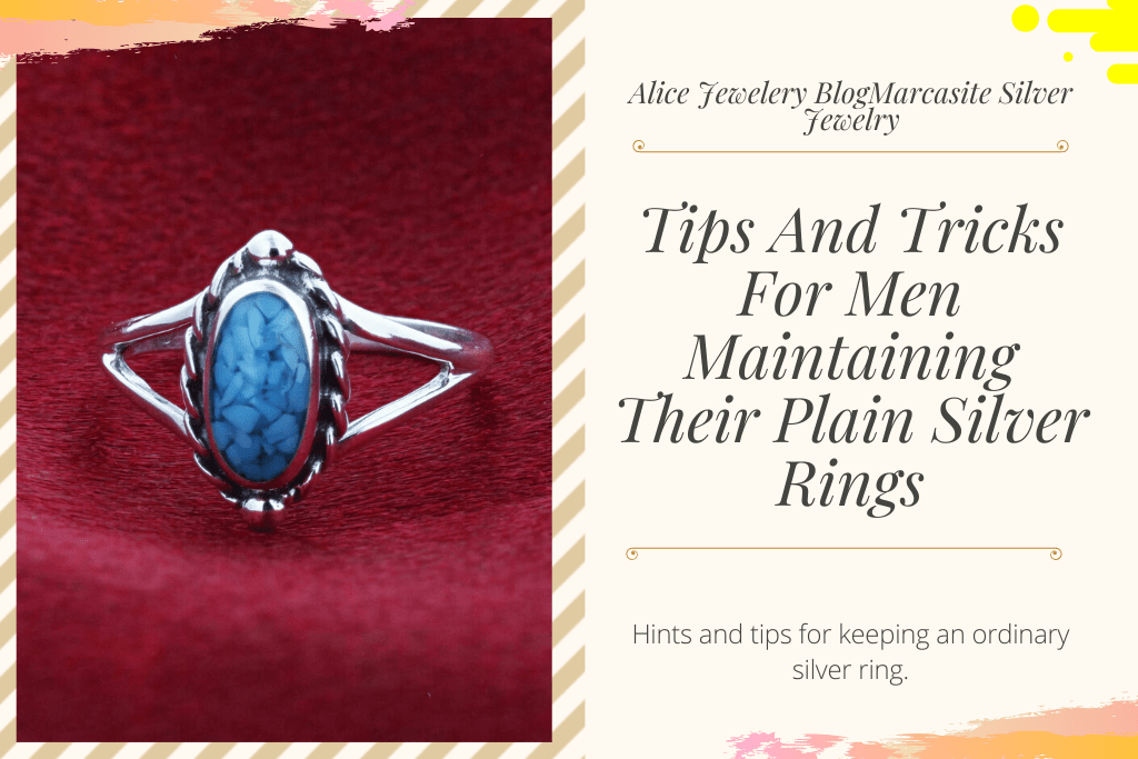 4.Tips And Tricks For Men Maintaining Their Plain marcasite ring settings