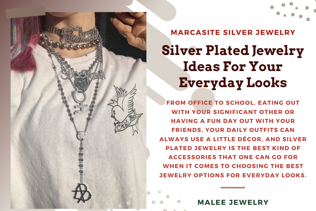5.Silver Plated Jewelry Ideas For Your Everyday Looks