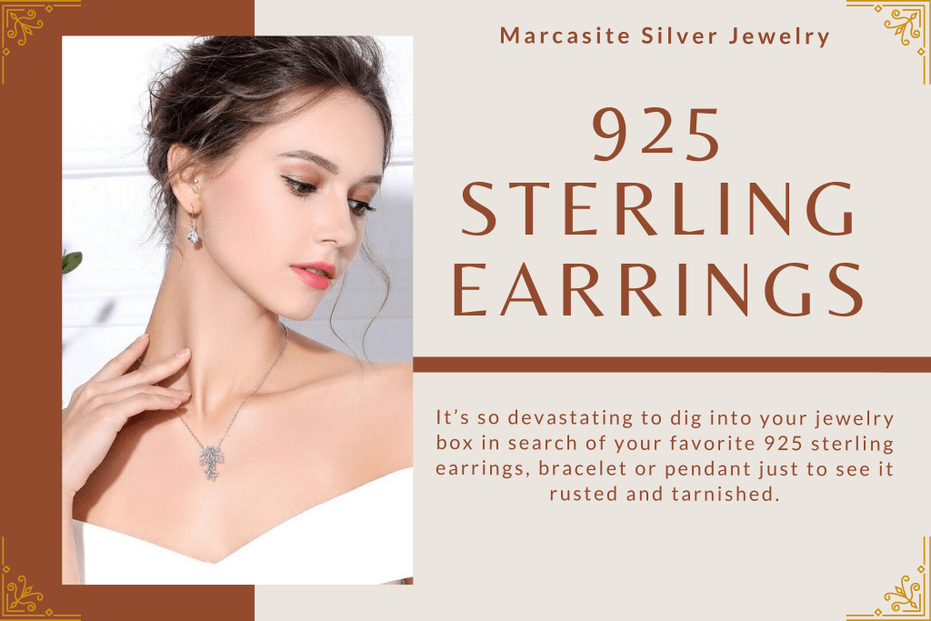 Why 925 sterling earrings tarnish quickly?