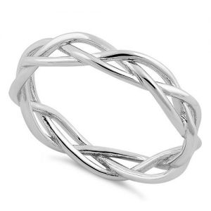 10 Plain Silver Rings For Men 05