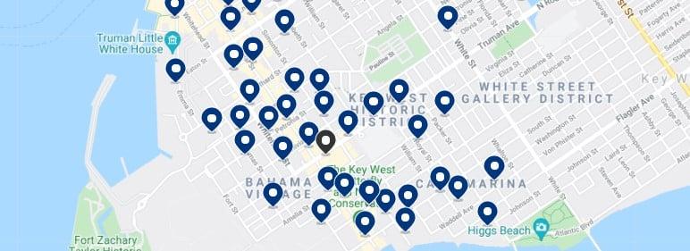 Alojamiento en Key West Historic District - Haz clic para ver todo el alojamiento disponible en esta zona