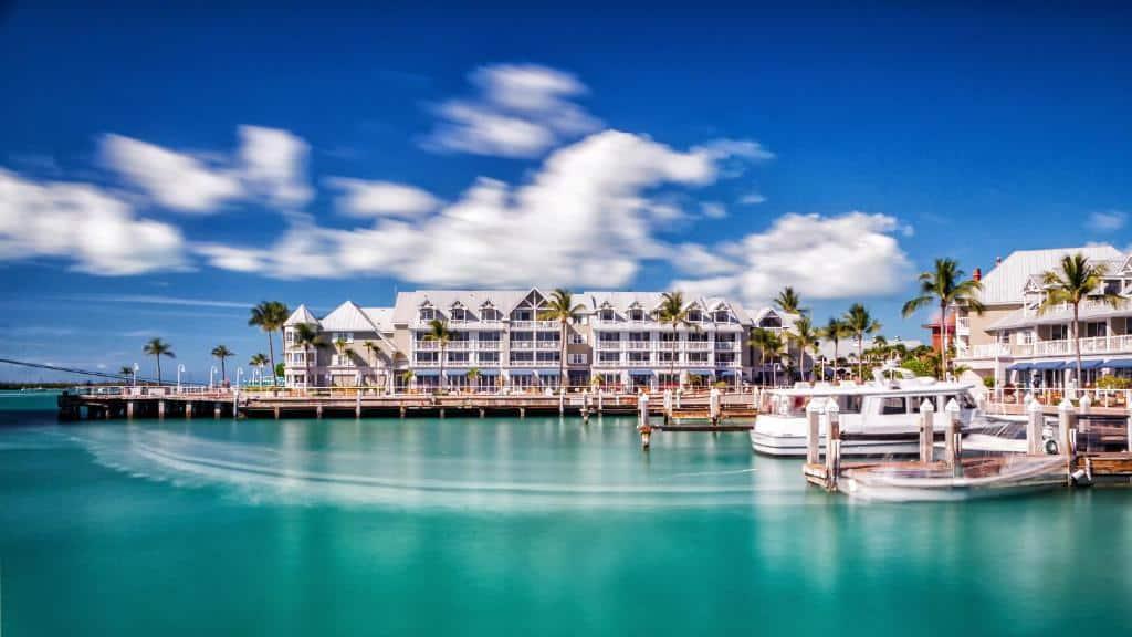 El Puerto Histórico es la mejor zona donde alojarse en Cayo Hueso