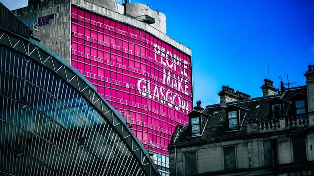 Best location in Glasgow for sightseeing - Glasgow City Centre