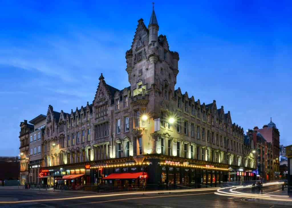 Central area to stay in Glasgow, Scotland - Merchant City