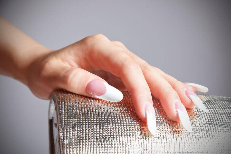 Female Hand With Manicured Fashion Nails