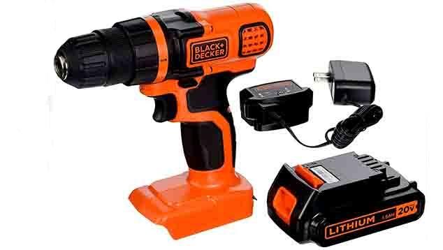 Black and Decker Drill LDX120C