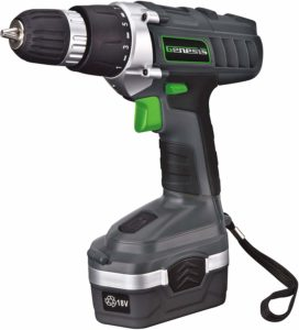 Genesis GCD18BK Best Cordless Drill