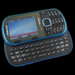 Samsung Intensity 2 dumb phone with slide-out QWERTY keyboard