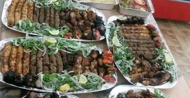 مطعم ليالي الشام الجوف
