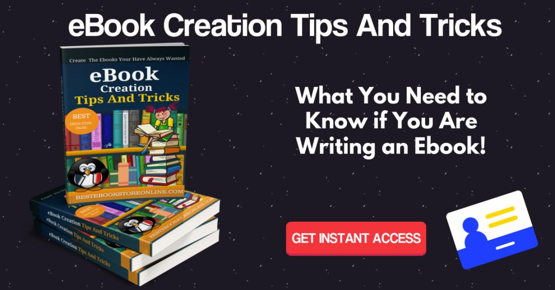 eBook Creation Tips and Tricks