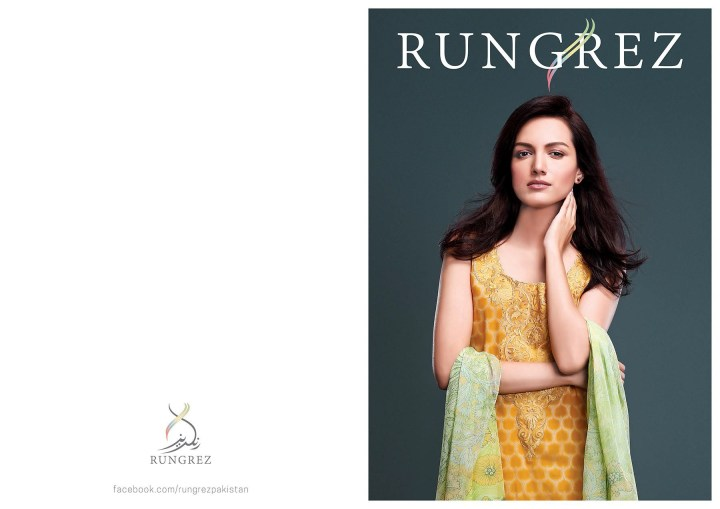Rungrez Lawn Eid Collection 2019