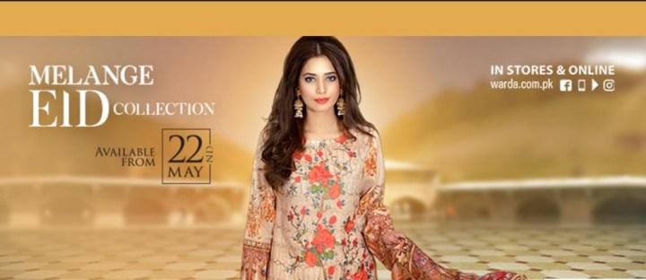 Warda Eid Collection 2020