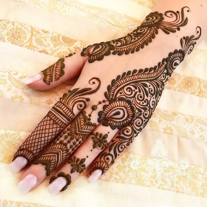 Pakistani Eid Mehndi Designs 2020