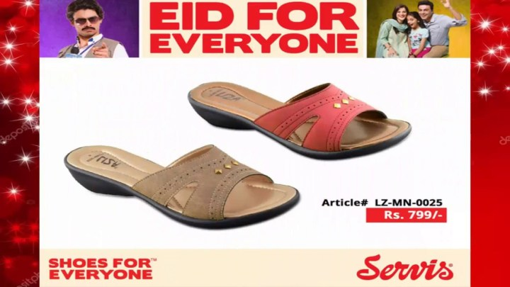 Service Shoes Eid Collection 2019 For Women