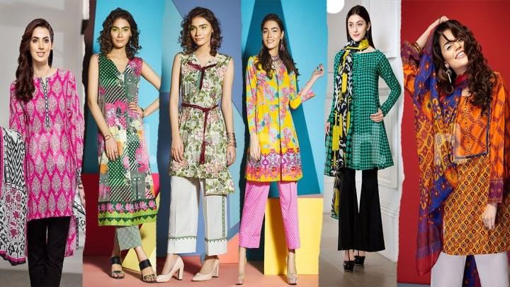 Nishat Linen Lawn Eid Collection 2019