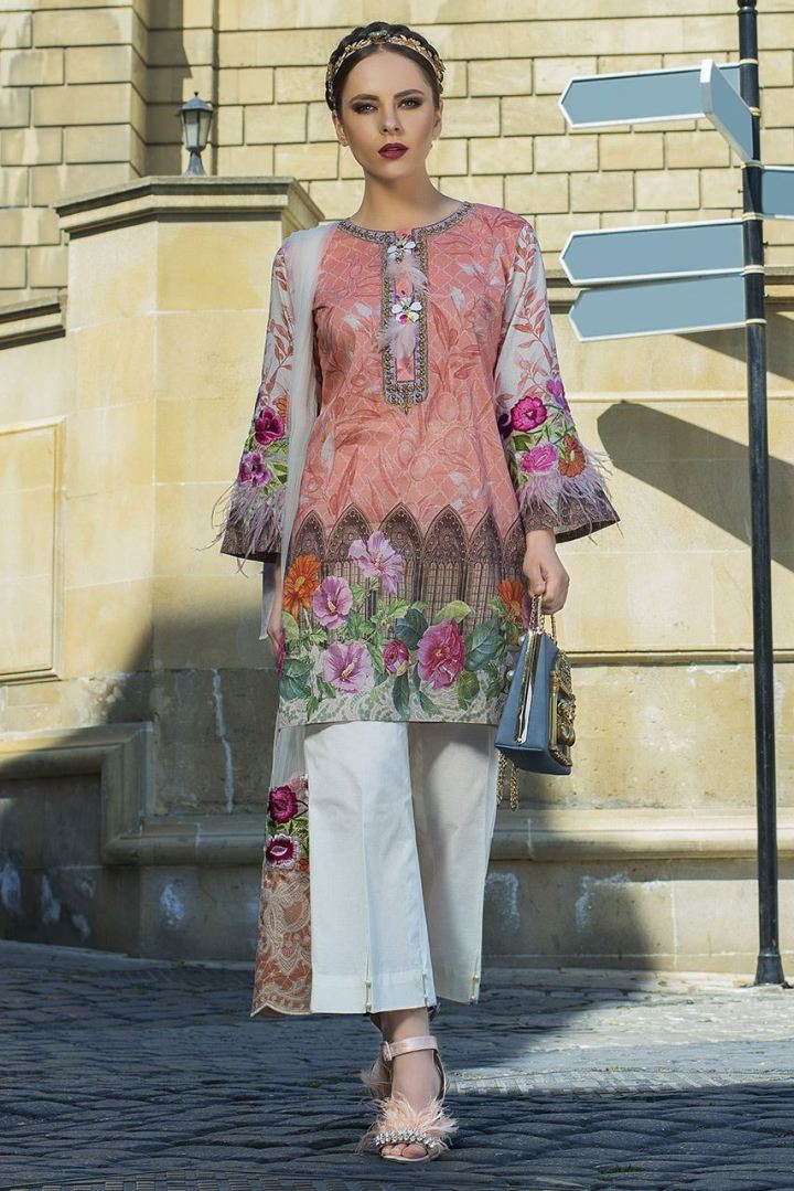 Latest Tabassum Mughal Lawn Collection 2019