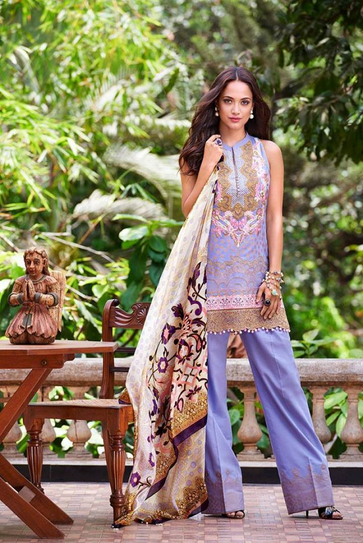 Faraz Manan Jacquard Eid Collection 2019