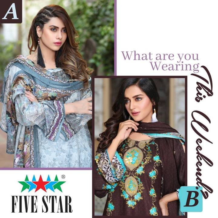 Latest Five Star Summer Collection 2019