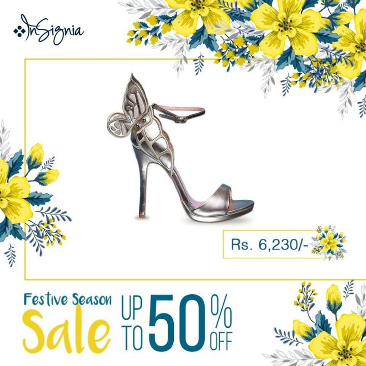Latest Insignia Eid Shoes Up to 50% Off