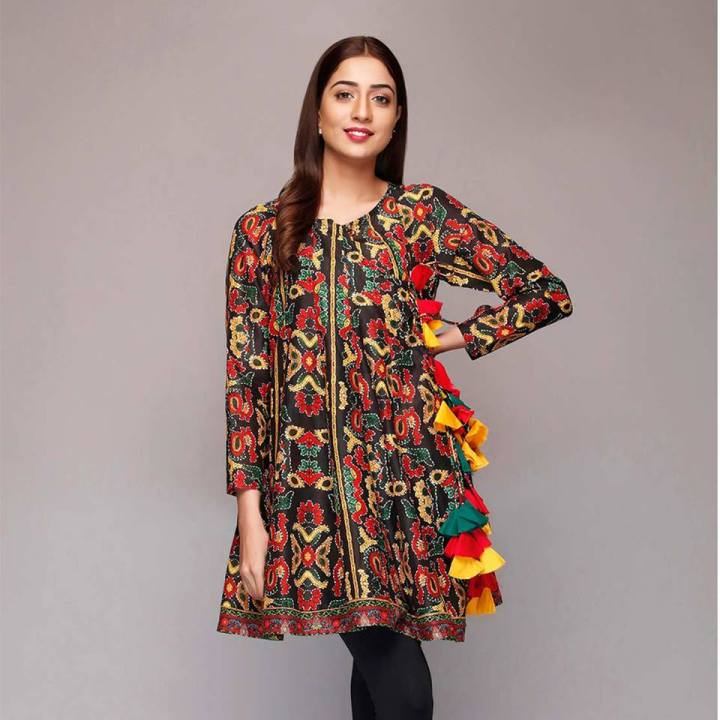 Latest Rang Ja Eid Frocks Collection 2019