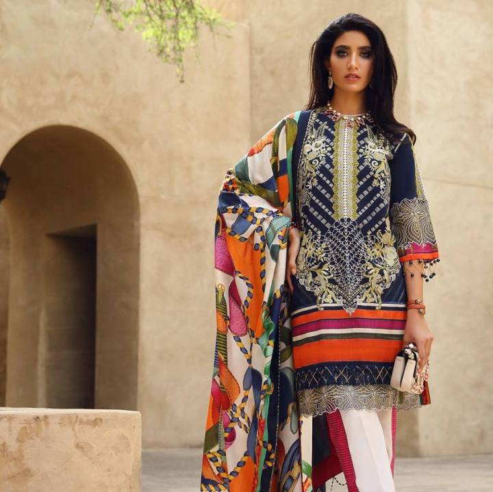 Faraz Manan Eid Lawn Collection 2019