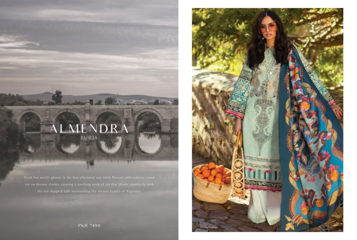 Elan Eid Lawn Collection 2019