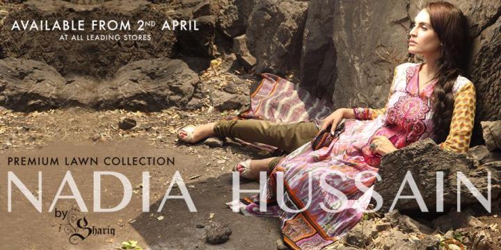 Latest Nadia Hussain Eid Collection 2019