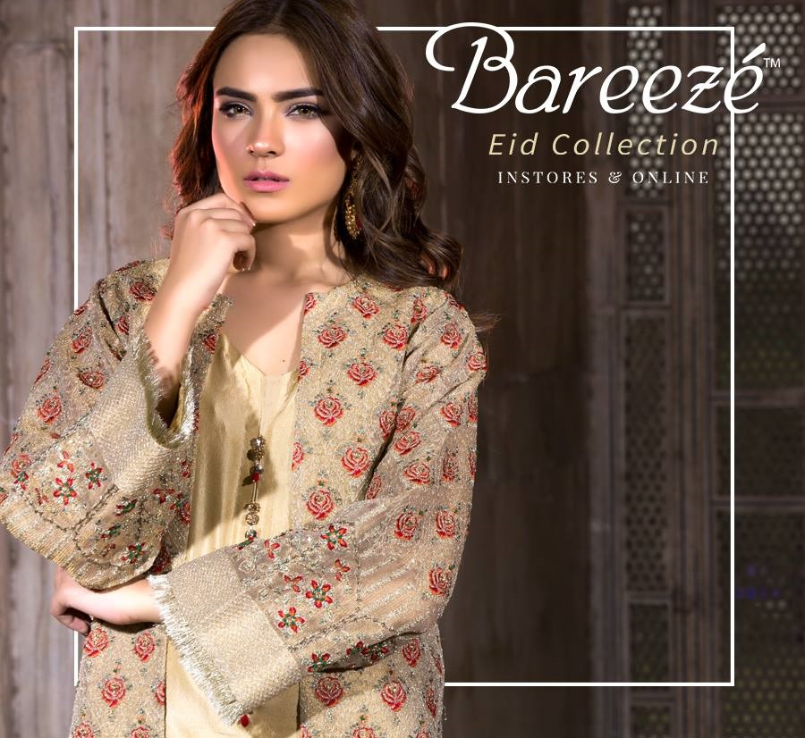 98898d0f385 Latest Bareeze Lawn Eid Collection 2019 With Price Catalogue