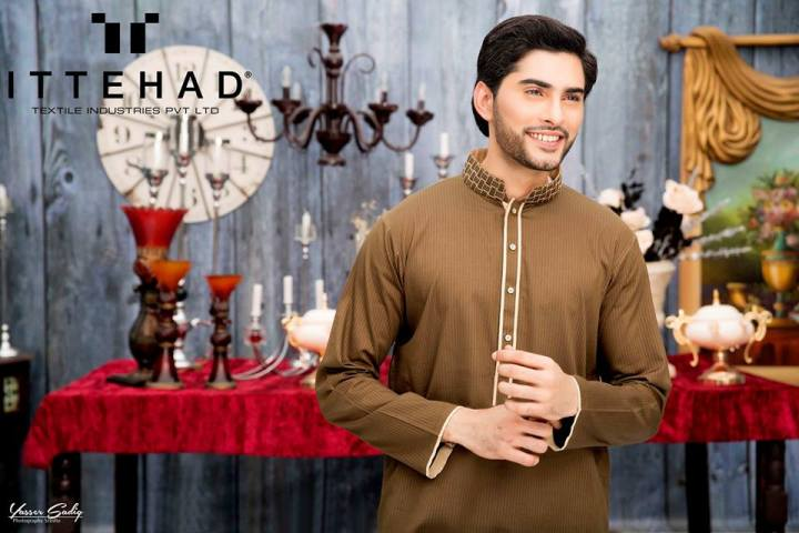 House of Ittehad Men's Festive Collection 2019