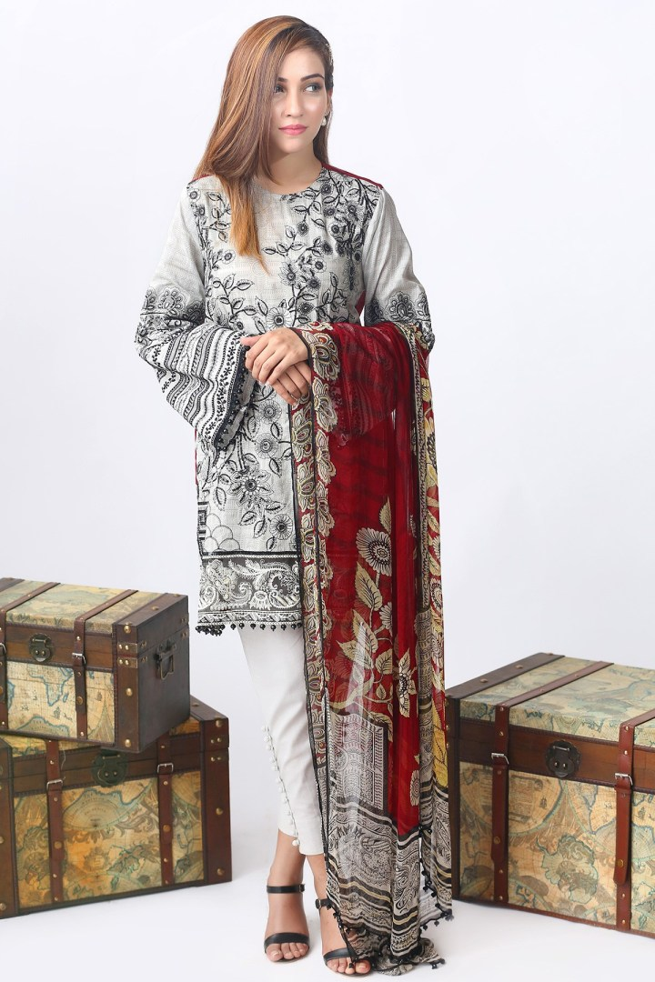 Alkaram Luxurious Embroidered Eid Collection 2019