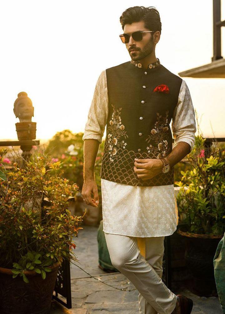 Deepak Perwani Men's Eid Collection 2019