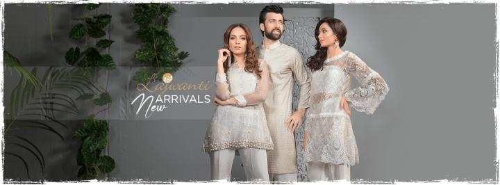 Latest Lajwanti Lawn Eid Collection 2019