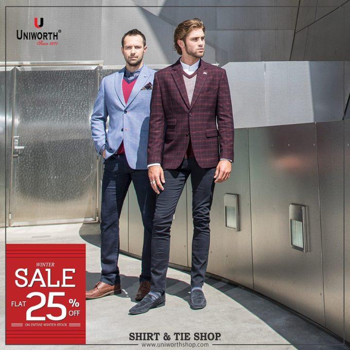 Uniworth Men's Suiting Eid Collection 2019