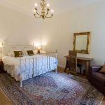 Classic Collection Brass Bed And Persian Rug