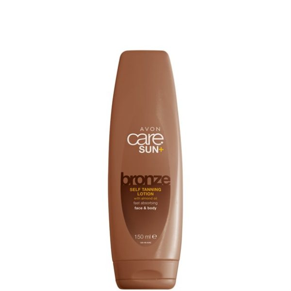 Avon Care Self Tanning Lotion met Amandelolie