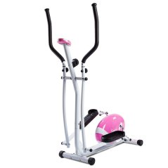 Sunny Health and Fitness Pink Magnetic Elliptical Trainer Reviews