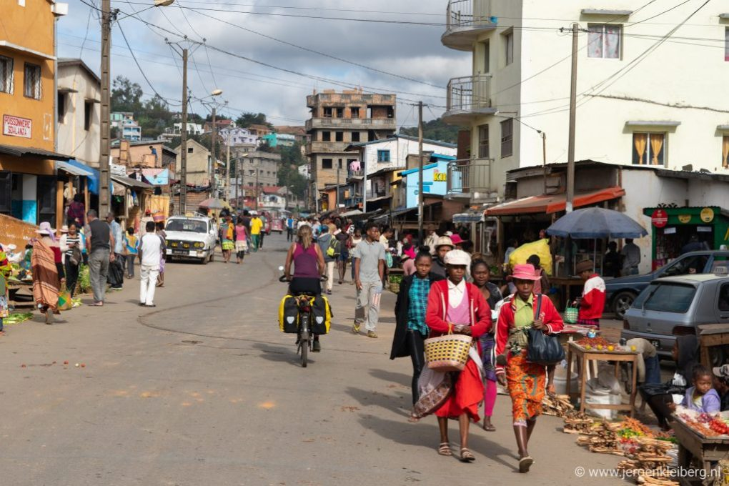 Straatbeeld Madagaskar